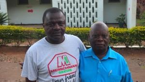 Pastors Samuel and Barry